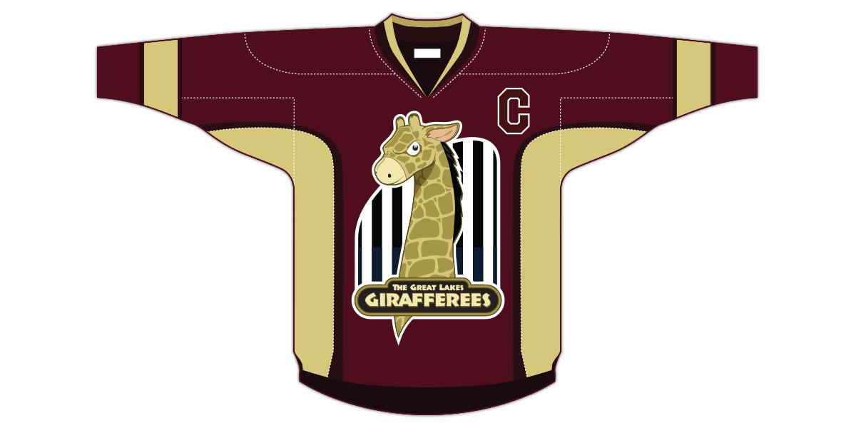 Girafferees Jersey Illustration
