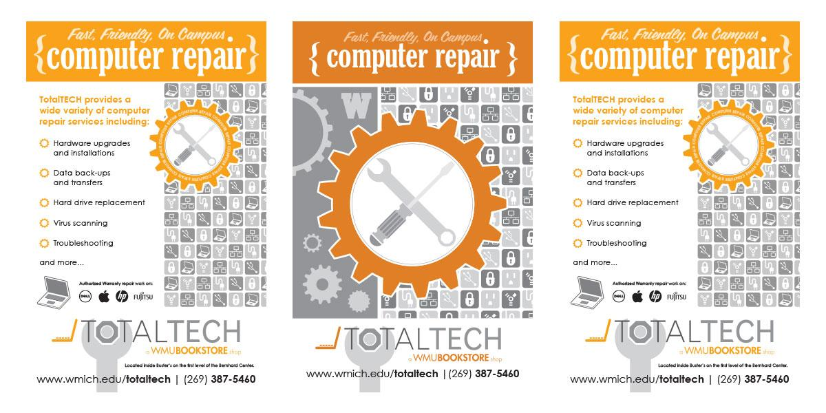TotalTECH Repair Posters